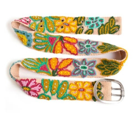 tropical-floral-belt
