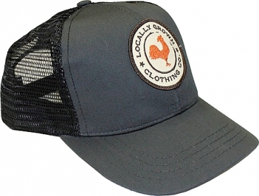PATCH HAT GREY
